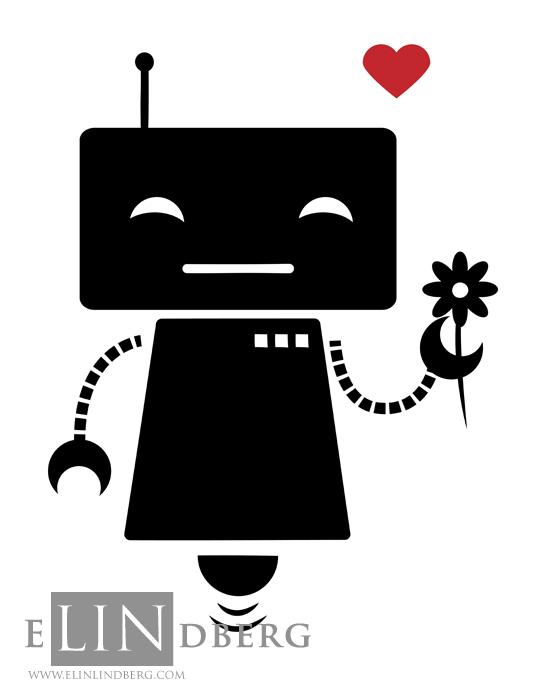 robotWithFlower